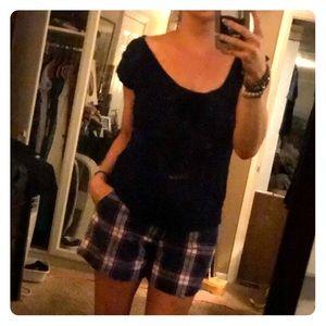 🔹 Perfectly Preppy Plaid Shorts 🔹